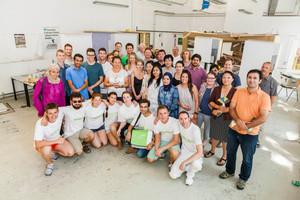 Die 35 Teilnehmer der Summer School Green.Building.Solutions 2015