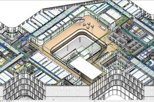 Das Architektur- bzw. Ingenieurmodell führt alle Informationen zusammen