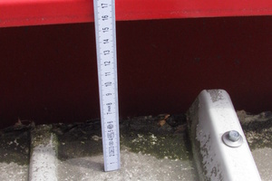 Bild7: Traufseitiger Abschluss der Dachfläche des Nebengebäudes