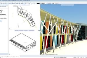 In Kombination mit der offenen BIM-Plattform bim+ unterstützt Allplan 2017 die disziplinübergreifende Zusammenarbeit aller Projektbeteiligten im Sinne von Building Information Modeling, hier zu sehen am Beispiel der Grundschule in Borgo Valsugana. Architekt: Gianluca Perottoni Architetto<br />