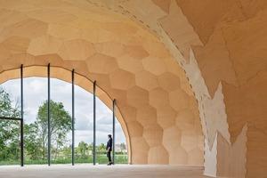Der Forstpavillon hat eine Nutzfläche von ca.125m² und ein Raumvolumen von 605m³