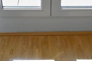 Bild4: Zusatzprofile beim Blendrahmen der Terrassentür