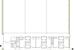 Grundriss Erdgeschoss, M 1: 500