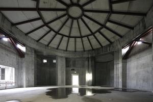 Der - laut Stiftung Humboldt Forum im Berliner Schloss - prominenteste Ausstellungsraum im ganz Schloss: unter der Kuppel, von ihr allerdings durch eine Betondecke getrennt (luftraumtechnische Gründe)