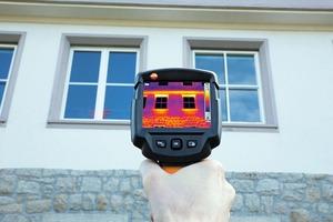 Thermografiekameras orten Wärmebrücken, zugige Fenster, Ausführungsmängel oder Leckagen