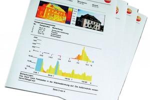 Ohne aussagekräftige Auswertungsberichte sind Thermogramme nur bunte Bilder