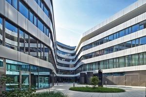 Das Caleido in Stuttgart mit dem Sitz der DGNB Geschäftsstelle ist ein nachhaltiger Büro- und Geschäftskomplex
