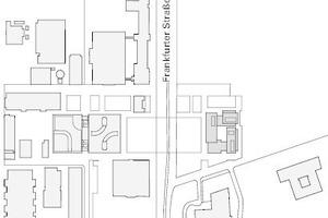 Lageplan, M 1:6500