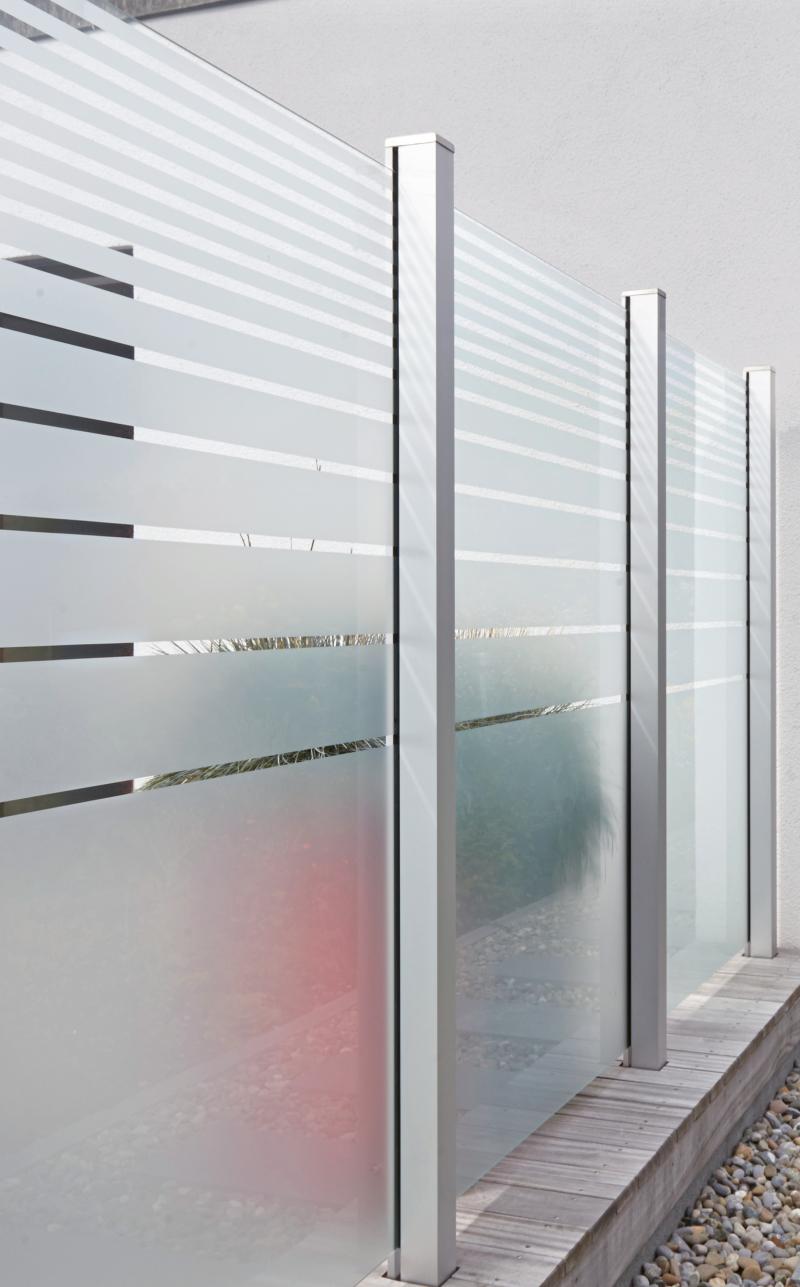 Gartenzaun Aus Glas Deutsche Bauzeitschrift