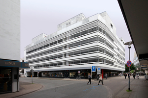 """""""Stadtkrone"""", Parkhaus mit Penthouse-Aufbauten in Hannvor (Cityförster)<br />"""