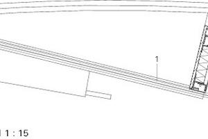 Detail Atriumschuppung, M 1:15