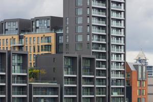 Wohnhaus Fulham Warf, London; Architekturbüro Broadway Malyan<br />