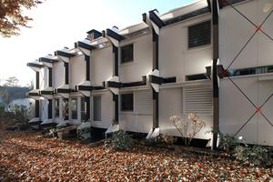Südfassade nach der Sanierung