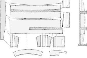 Abwicklungsplan für die Innenschale