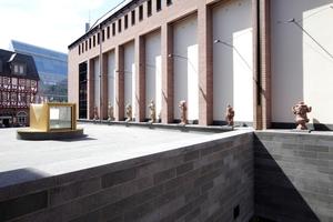 """Blick auf den neuen Stadtplatz, den """"ersten Ausstellungsraum"""""""