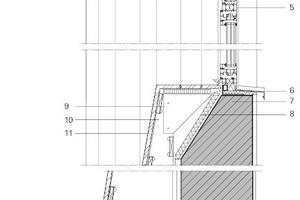 Wandaufbau vertikal, M 1:20