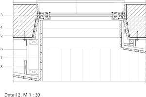 Wandaufbau horizontal, M 1:20