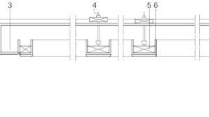 Decke Ruheraum, Schnitt BB, M 1:25