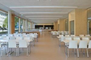 Knapp 750 Schüler der Ganztagsschule bekommen in der Mensa ihre Mittagsverpflegung