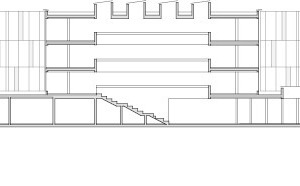 Längsschnitt AA, M 1:750