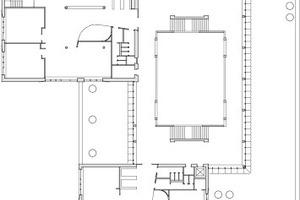 1. Obergeschoss, M 1:1000