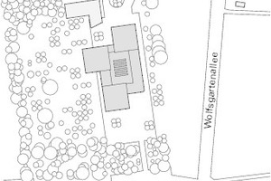 Lageplan, M 1:5000
