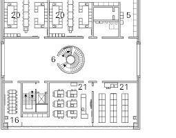 Grundriss, 5. Obergeschoss, M 1:750