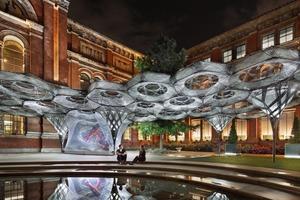 Elytra Filament Pavilion, Victoria & Albert Museum, London