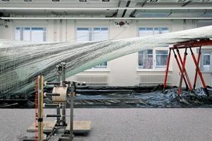 Robotische Fertigung, ICD/ITKE Forschungspavillon 2016–17, Stuttgart