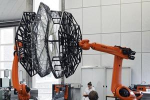 Robotische Fertigung, ICD/ITKE Forschungspavillon 2013–14, Stuttgart