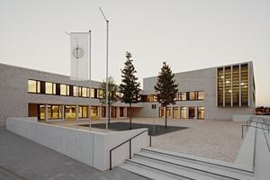 Mithilfe von Allplan Architecture realisiert: Gymnasium Riedberg – Architekten: Ackermann + Raff, Tübingen<br />