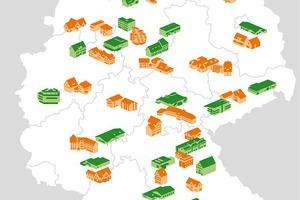 Von der Nordsee bis zum Bodensee: Die Teilnehmer der beiden dena-Modellvorhaben befinden sich im ganzen Land