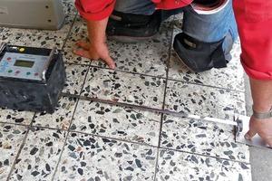 Bild5: Messung des Gleitreibungskoeffizienten