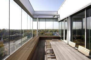 Dachterrasse für die Mitarbeiter