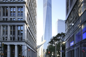 One World Trade Center: Interpane-Workshop at the top
