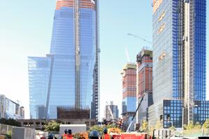 """Auch beim """"Hudson Yards""""-Projekt ist AGC Interpane mit dabei"""