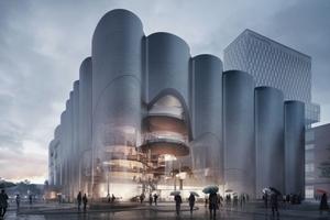 Eine der vier Anerkennungen: Zaha Hadid Architects, London