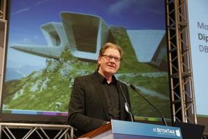 Beton zum Anschauen, vorgestellt von DBZ Chefredakteur Burkhard Fröhlich