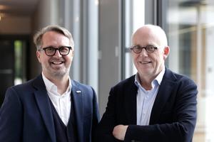 Stefan Nixdorf und Bernhard Busch (r.)
