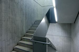 Bild 2: Treppenhäuser unterliegen meist geringeren Anforderungen an Sichtbetonklassen