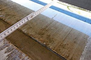 Abb.9: Wasserabfluss über die Außenkante (Detail)