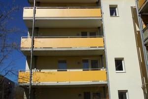 Abb.1: Ansicht der Balkonkonstruktion