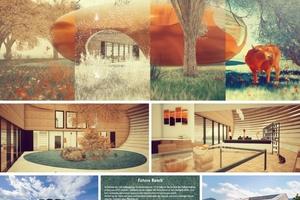 Eine der ausgestellten Arbeiten: Future Ranch, von Kyrylo Sobolyev