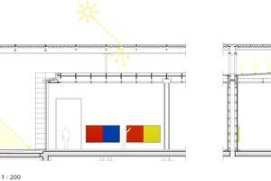 Detail Lichtlenkung, M 1:200