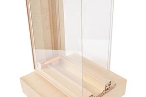 Bei den autoreaktiven Kastenfenstern mit Ventflex-Technik sind die äußeren Scheiben an allen vier Ecken mit Paraffin gefüllten Teleskopzylindern verbunden, welche die Scheibe bei thermischer Aktivierung, also bei Temperaturen über 23°C nach außen drücken. Durch den temporär entstandenen Schlitz kann warme Luft entweichen und kühle Außenluft nachströmen. Sinkt die Temperatur an den Zylindern unter 20°C, schließt sich das Fenster wieder