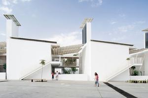 """""""Einfach Lowtech"""" – Das Lycée Charles de Gaulle in Damaskus hat ein natürliches Kühlsystem"""