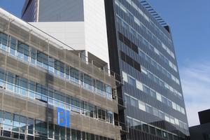 """""""Smart Hightech"""" – das Bürohochhaus der TU Wien produziert mit seiner Fassade Energie"""