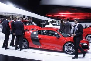 Ein V10 FSi im Audi R8 5.2 quattro. (Energie)Effizientes Fahren ist hier deplaziert