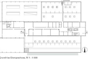 Obergeschoss, M 1:1000
