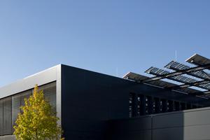 Das integrale Gebäudekonzept wurde 2017 mit dem Deutschen Solarpreis ausgezeichnet